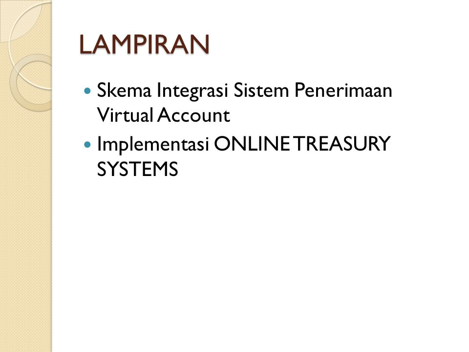 LAMPIRAN Skema Integrasi Sistem Penerimaan Virtual Account
