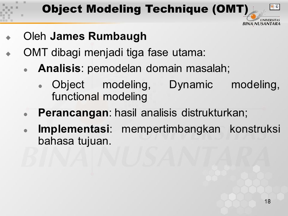 Object Modeling Technique (OMT)