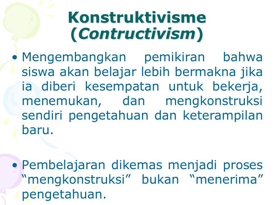 Konstruktivisme (Contructivism)