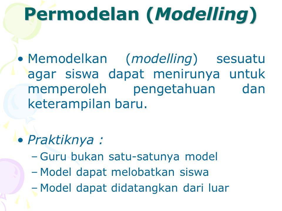 Permodelan (Modelling)