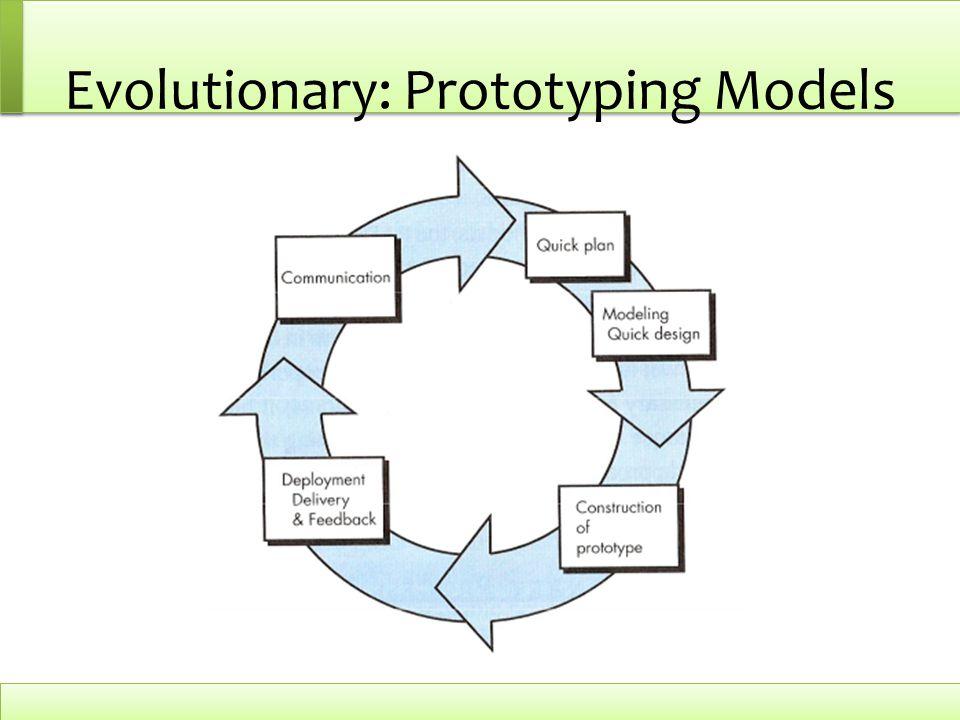 Evolutionary: Prototyping Models