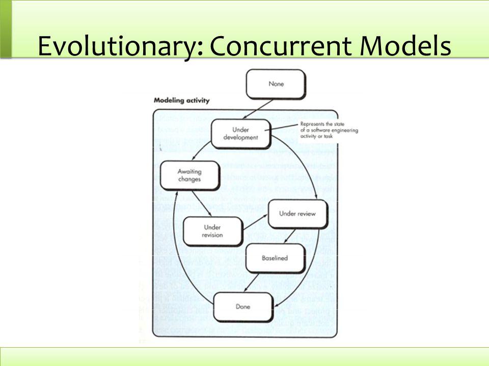 Evolutionary: Concurrent Models
