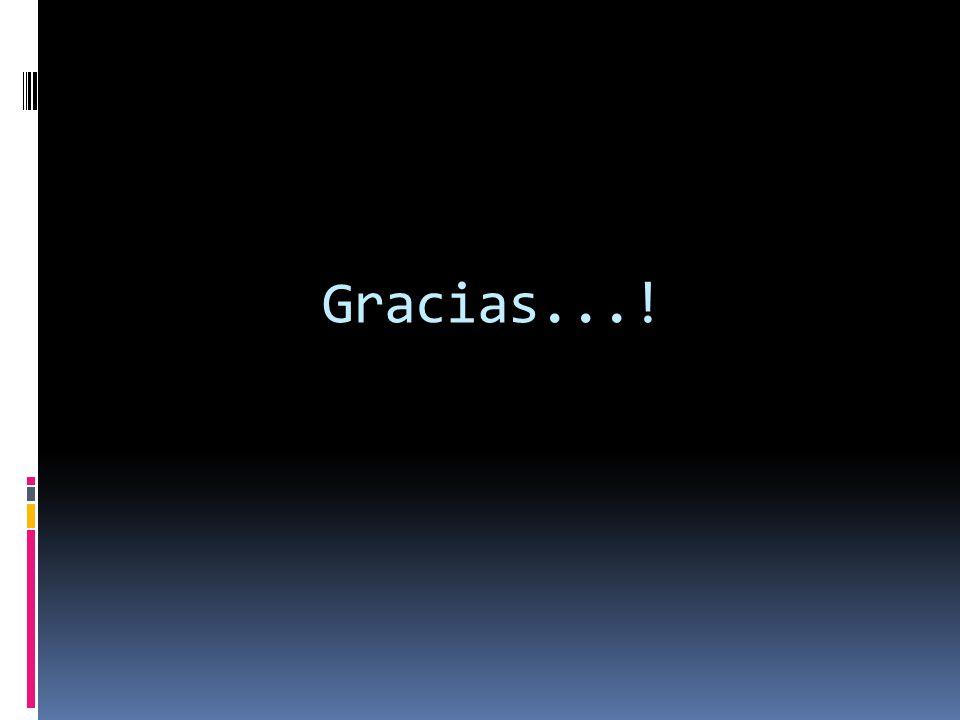Gracias...!