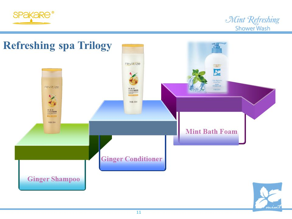 Refreshing spa Trilogy