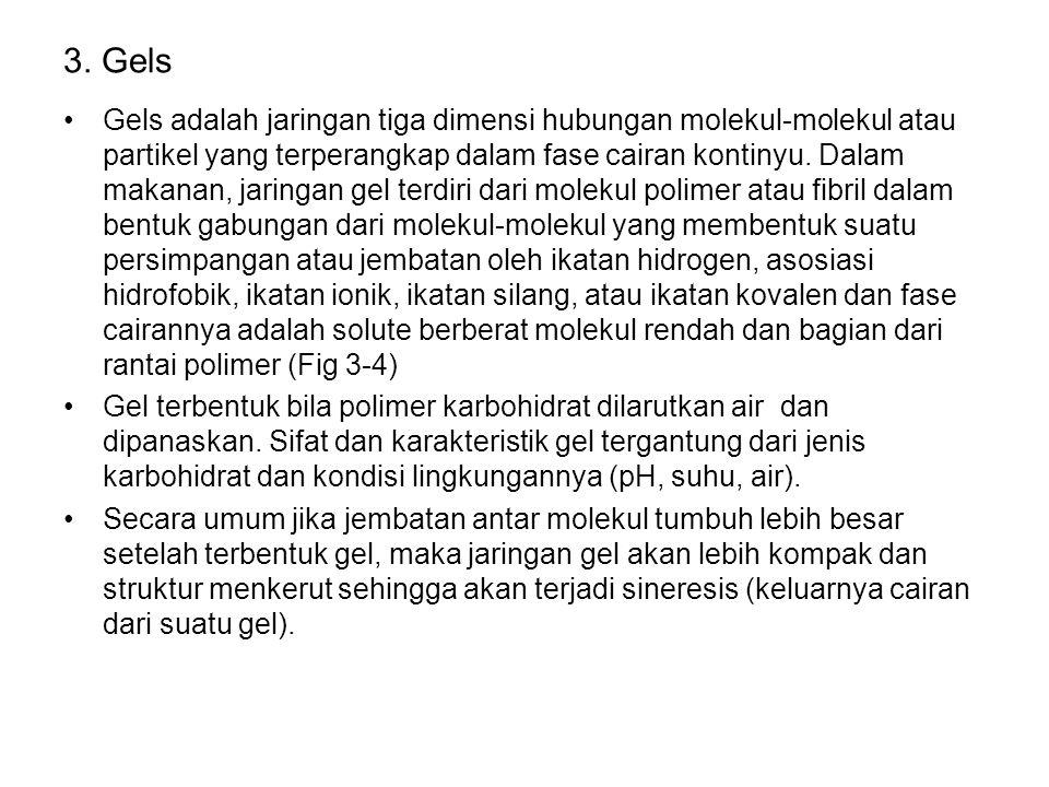 3. Gels