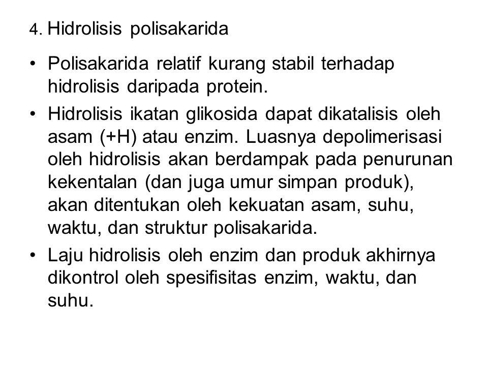4. Hidrolisis polisakarida