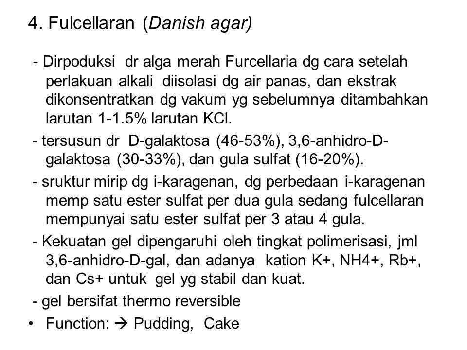 4. Fulcellaran (Danish agar)