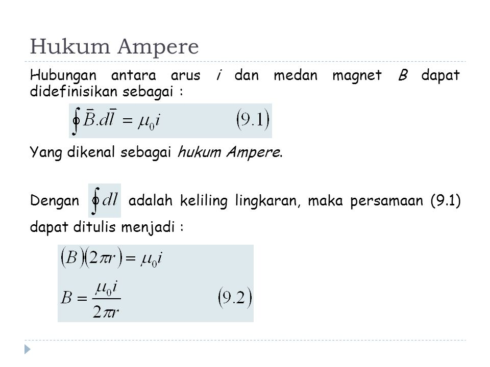 Hukum Ampere