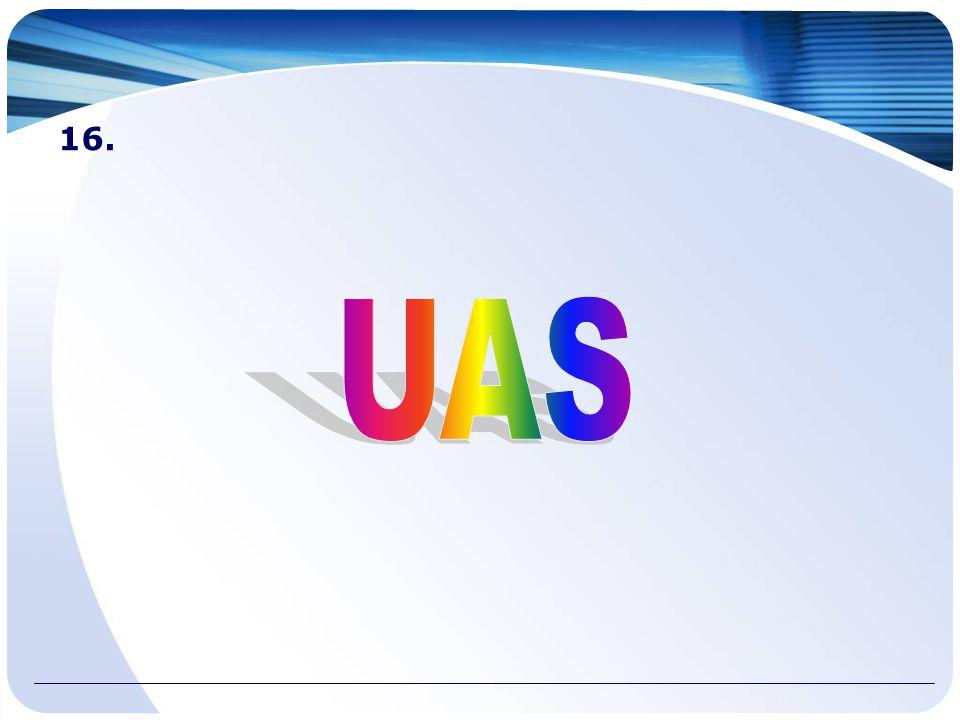 16. UAS