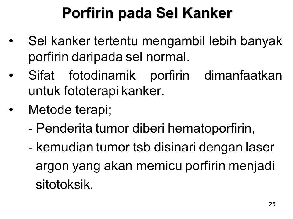 Porfirin pada Sel Kanker