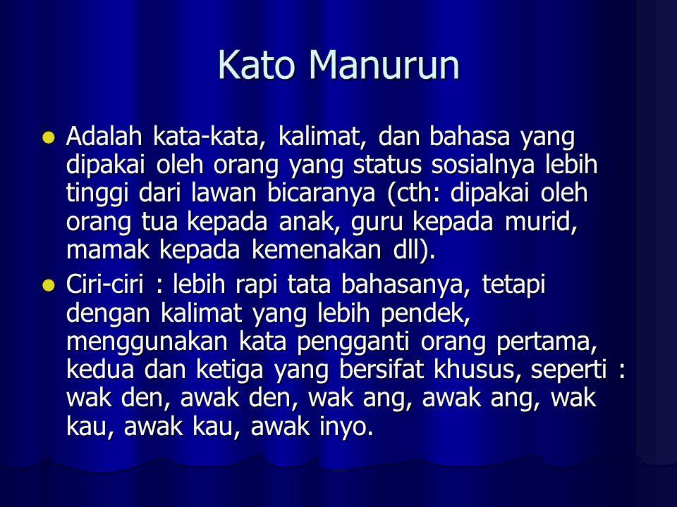 Kato Manurun