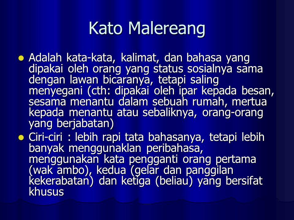 Kato Malereang