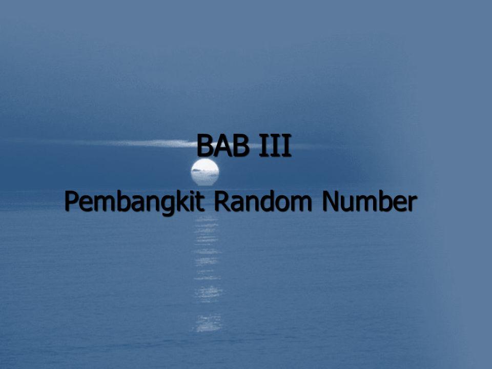 Pembangkit Random Number