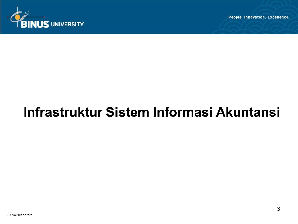 Infrastruktur Sistem Informasi Akuntansi