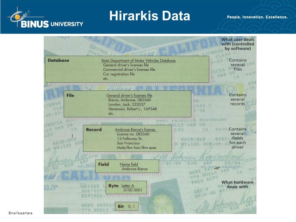 Hirarkis Data Bina Nusantara