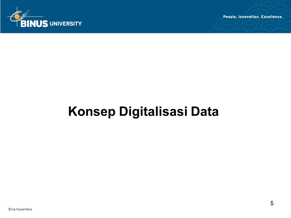 Konsep Digitalisasi Data