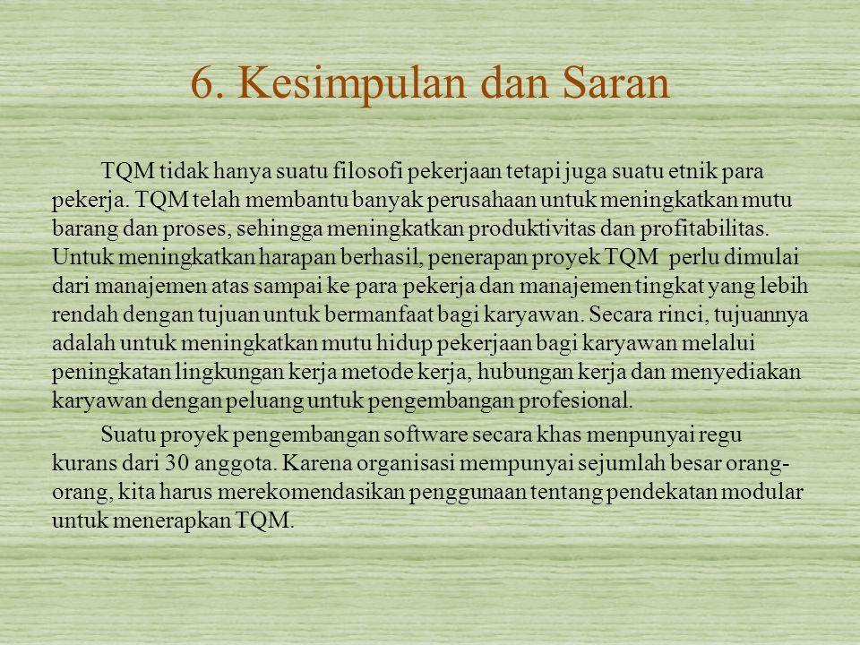 6. Kesimpulan dan Saran