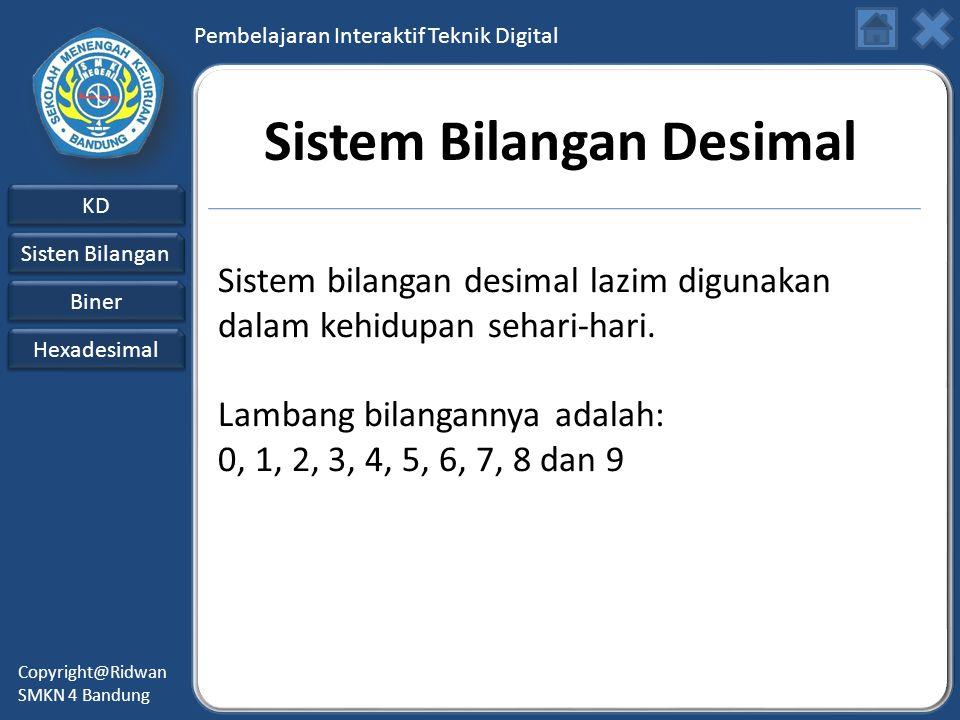 Sistem Bilangan Desimal