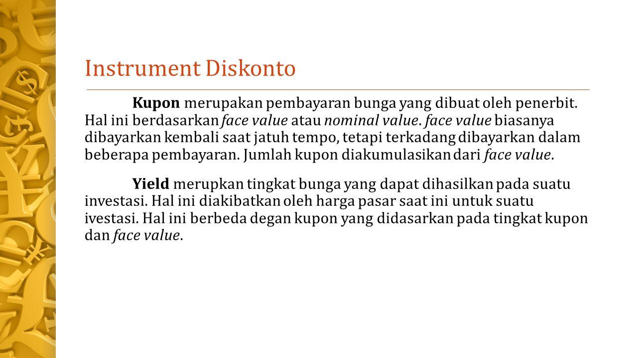 Instrument Diskonto