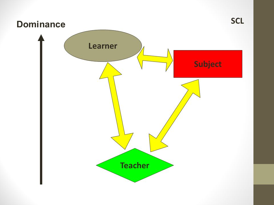 SCL Dominance Learner Subject Teacher