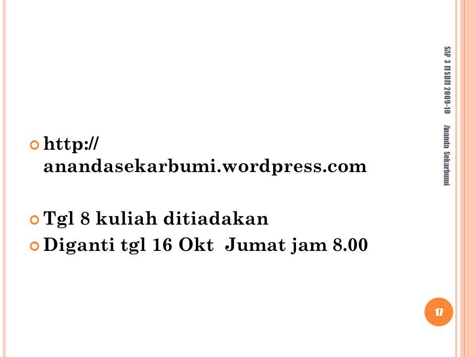 http:// anandasekarbumi.wordpress.com