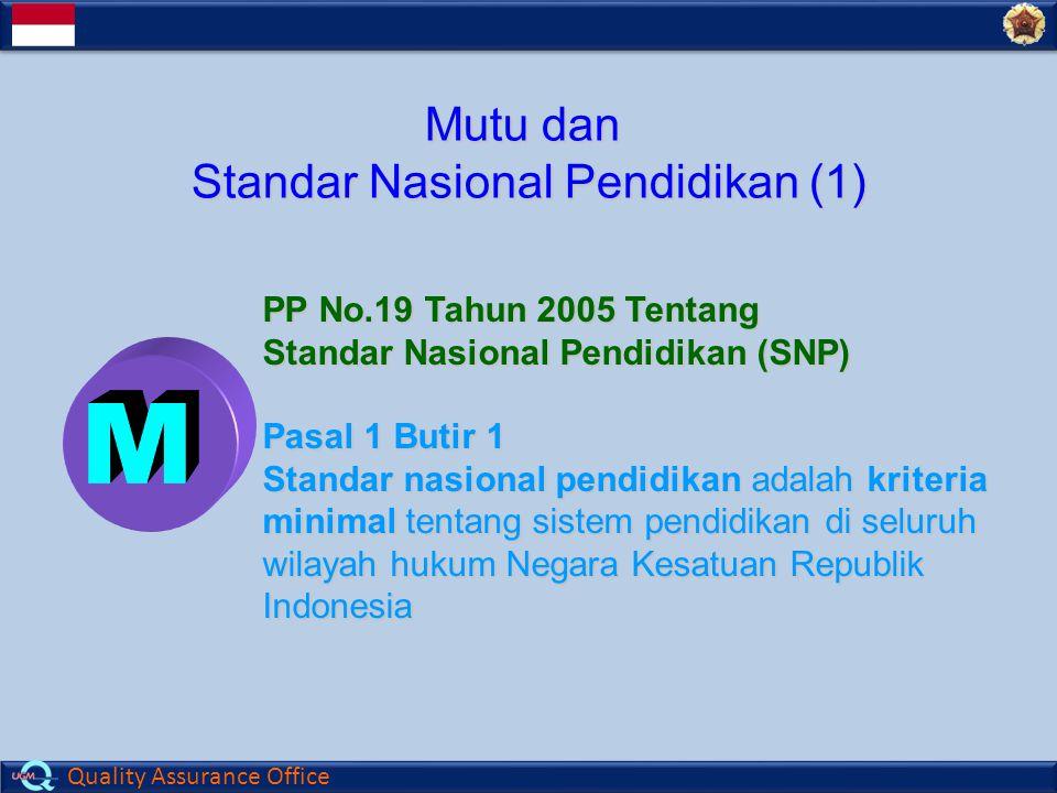 Standar Nasional Pendidikan (1)