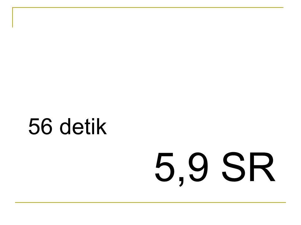 56 detik 5,9 SR