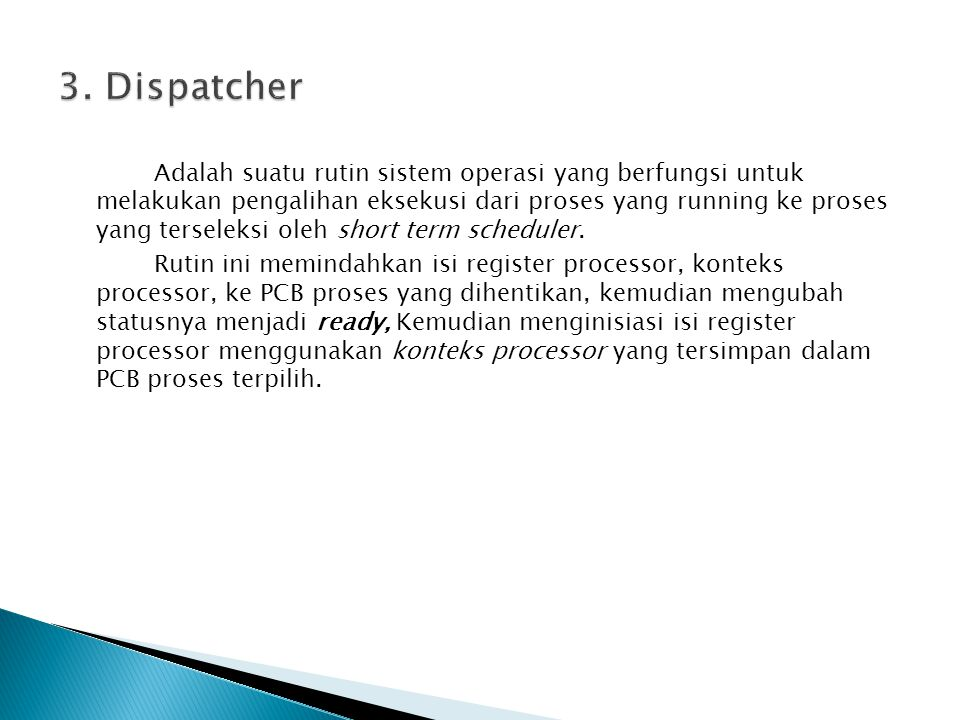 3. Dispatcher