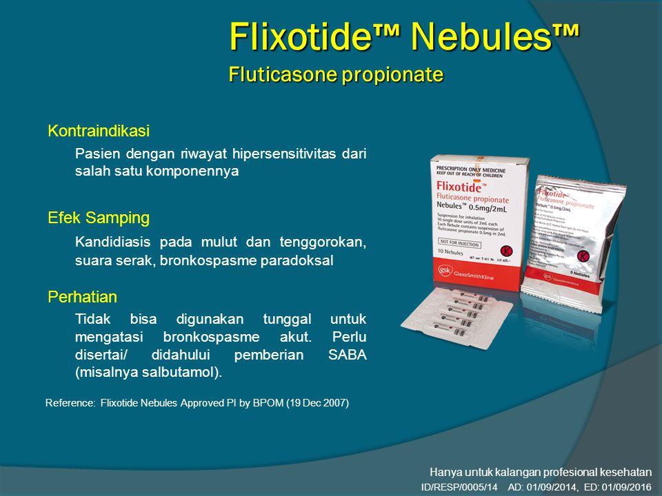 Flixotide™ Nebules™ Fluticasone propionate