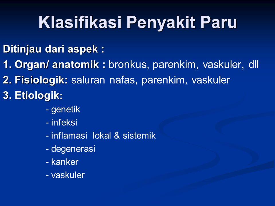 Klasifikasi Penyakit Paru