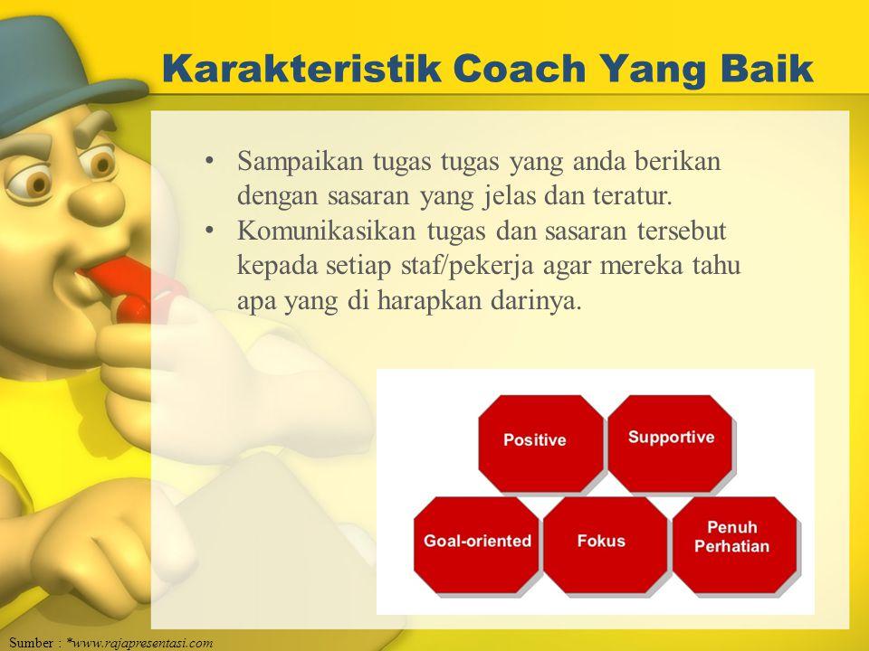 Karakteristik Coach Yang Baik
