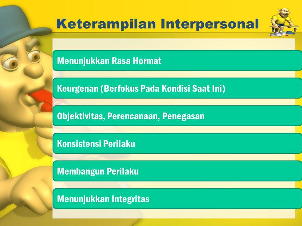 Keterampilan Interpersonal