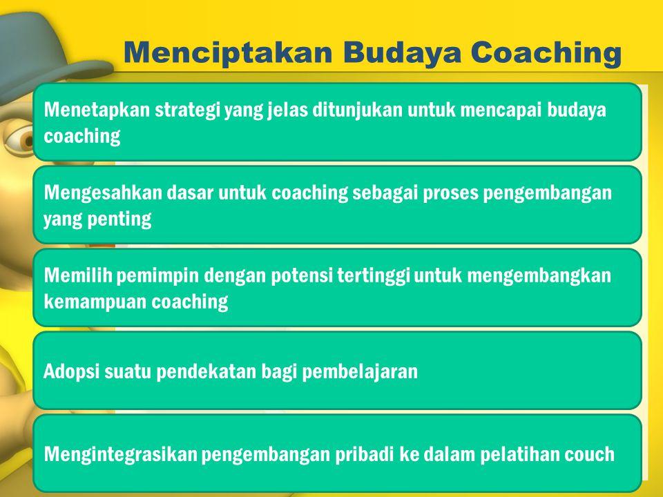 Menciptakan Budaya Coaching