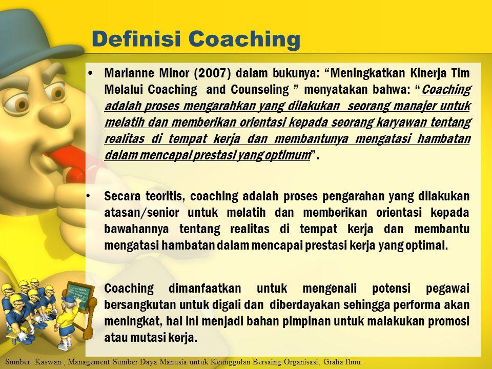 Definisi Coaching