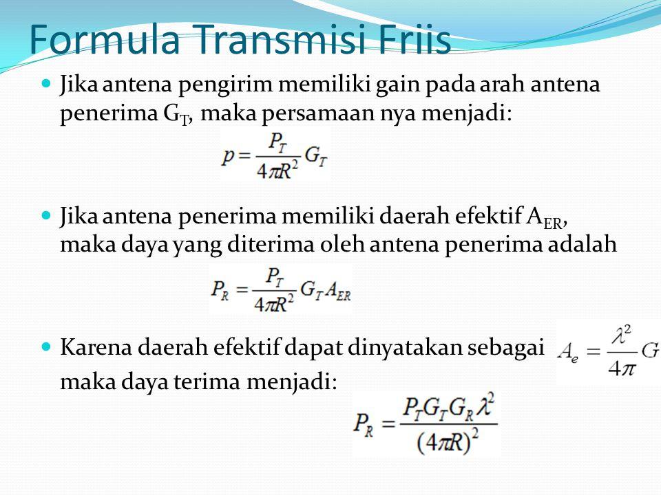 Formula Transmisi Friis