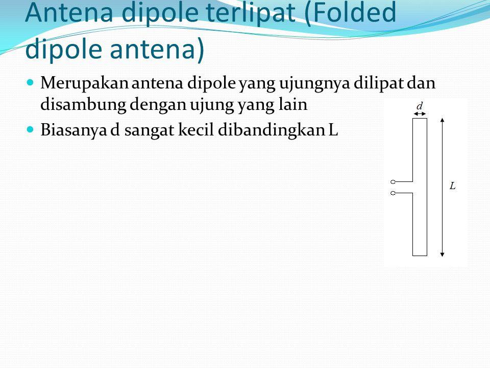 Antena dipole terlipat (Folded dipole antena)