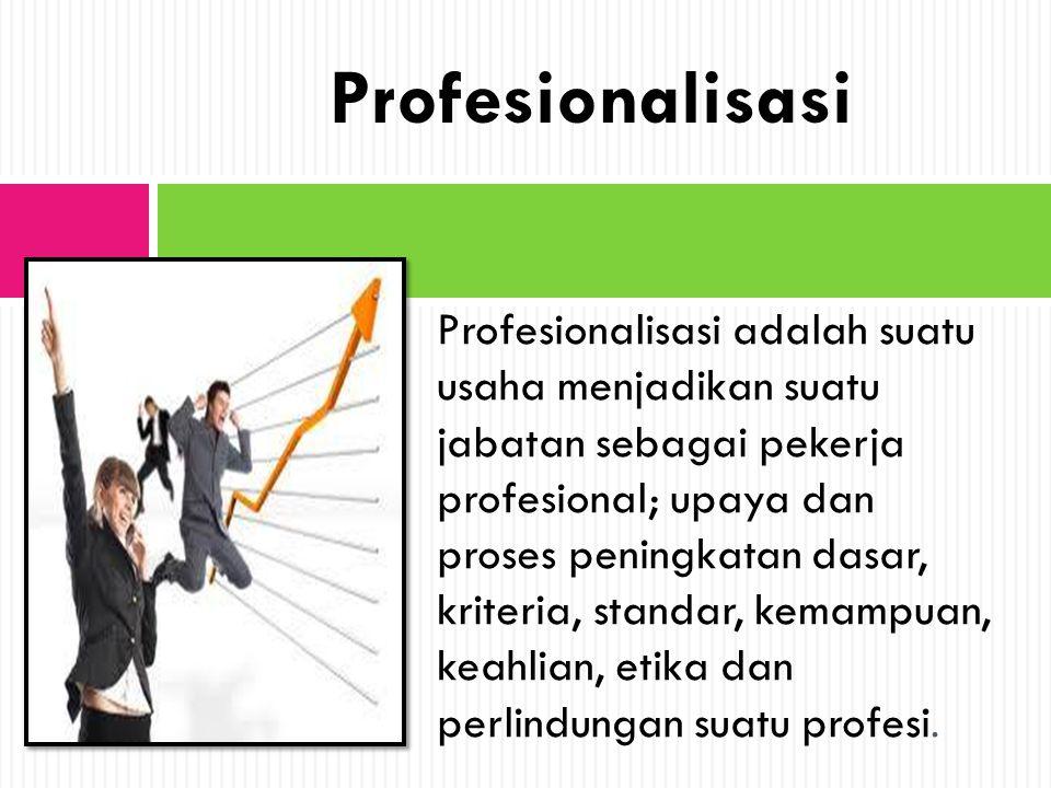 Profesionalisasi