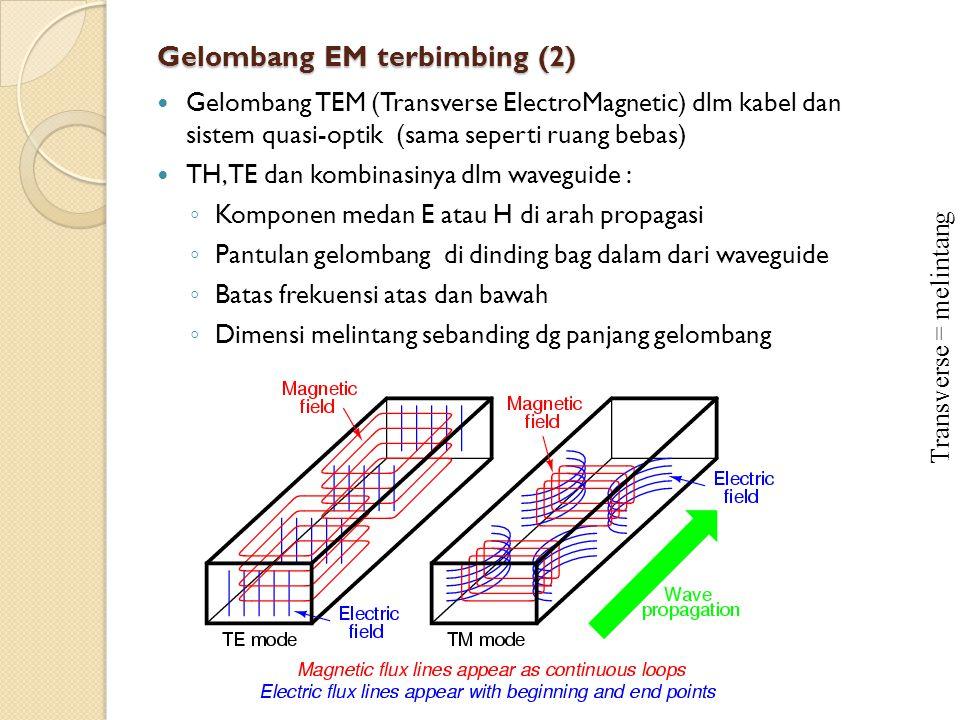 Gelombang EM terbimbing (2)