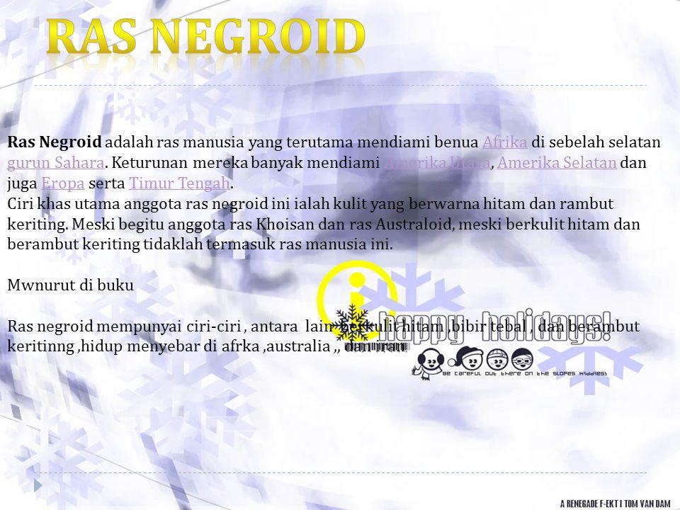 Ras negroid