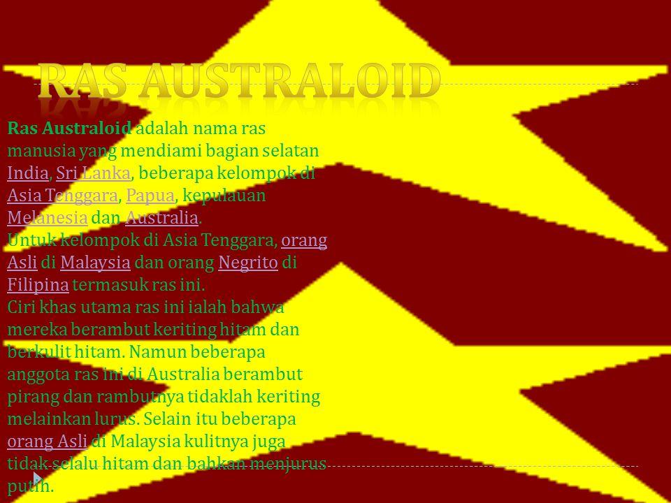 Ras australoid