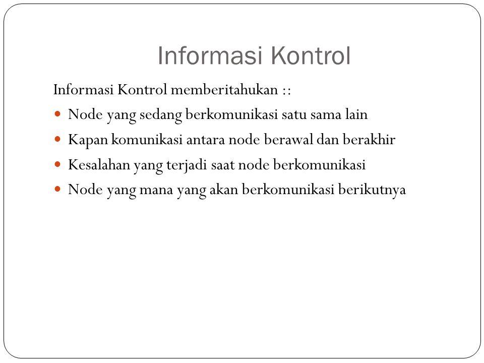 Informasi Kontrol Informasi Kontrol memberitahukan ::