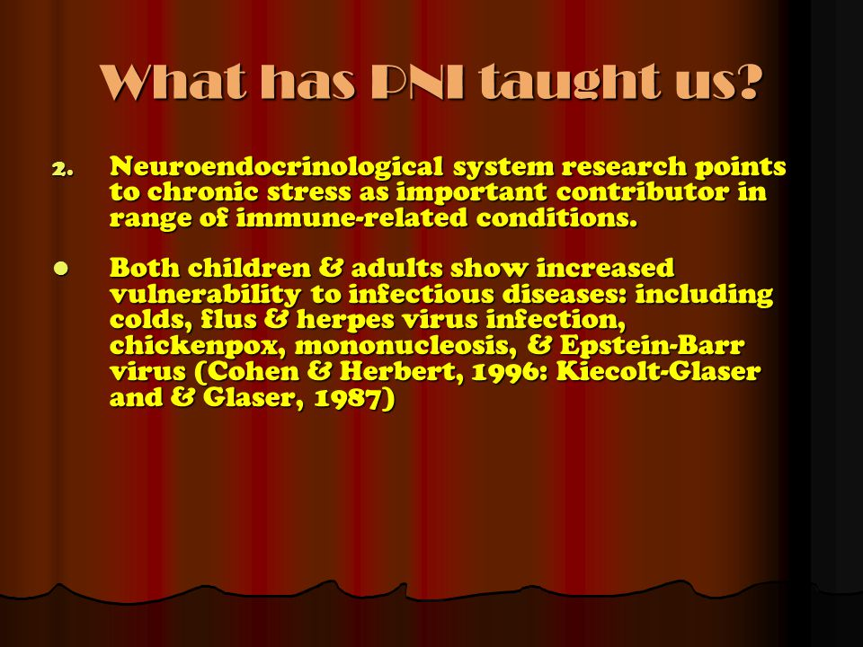 What has PNI taught us