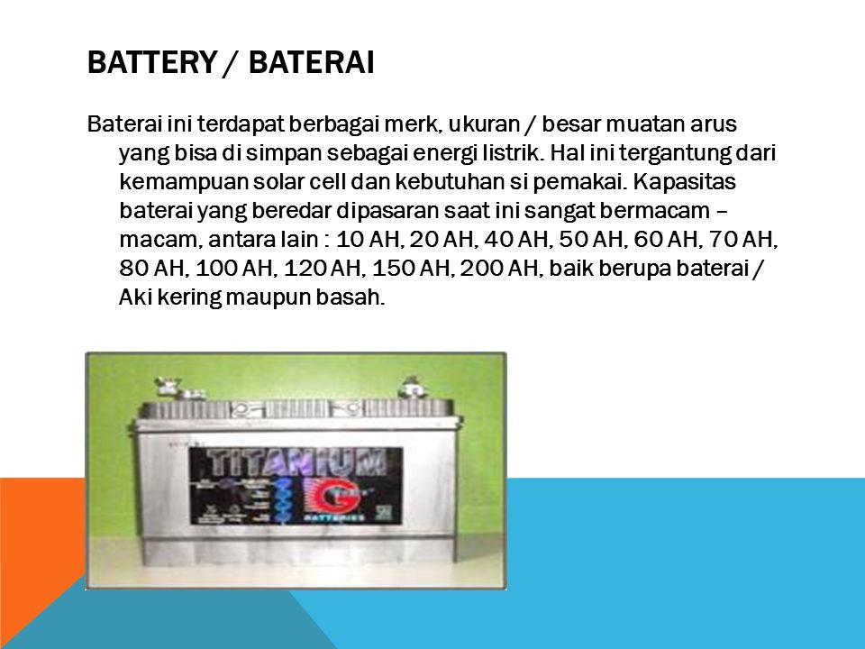 BATTERY / BATERAI