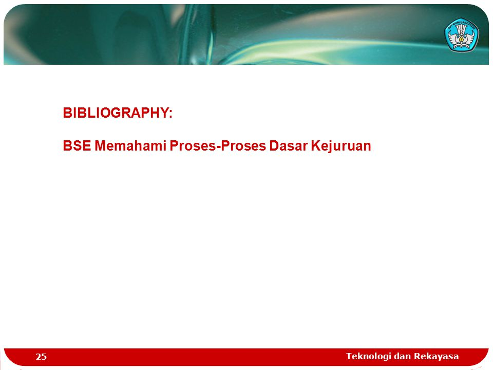 BSE Memahami Proses-Proses Dasar Kejuruan