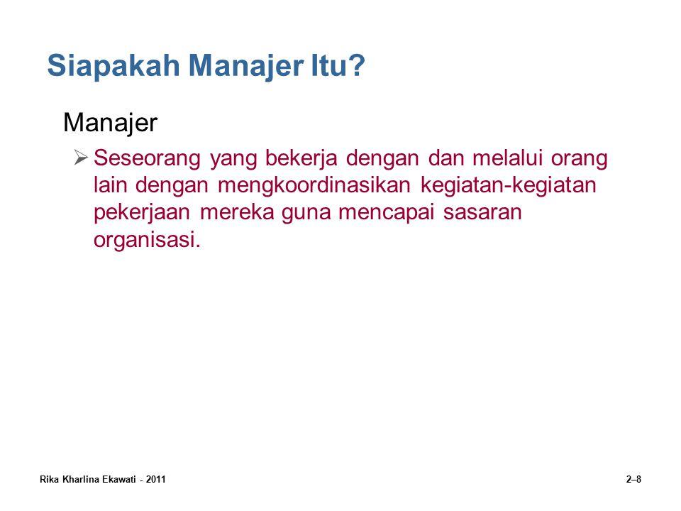 Siapakah Manajer Itu Manajer