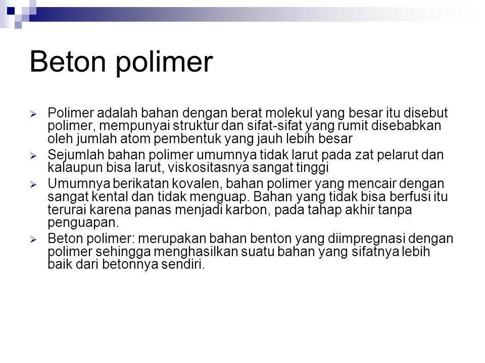 Beton polimer