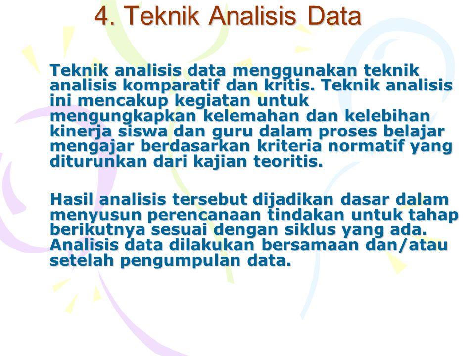4. Teknik Analisis Data
