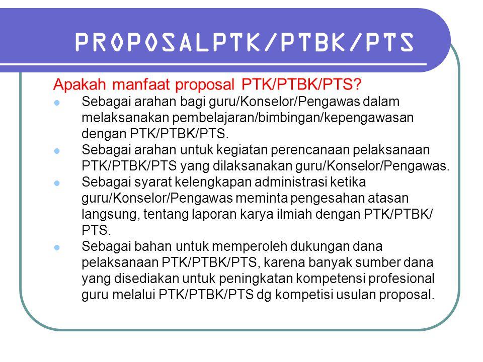 PROPOSALPTK/PTBK/PTS