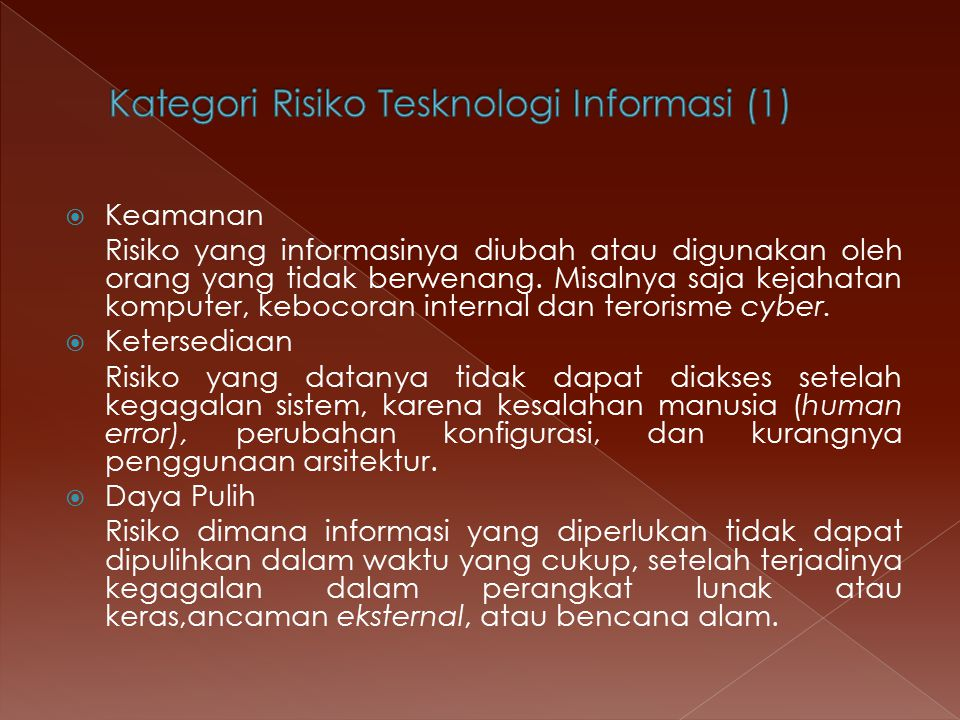 Kategori Risiko Tesknologi Informasi (1)