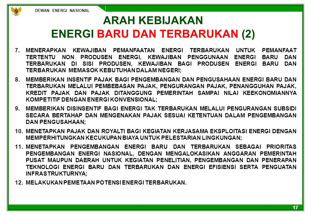 ENERGI BARU DAN TERBARUKAN (2)